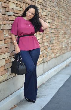 Plus Size Jeans For Curvy Women (12)