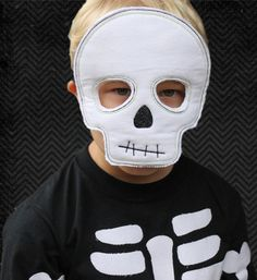 Halloween Spooktacular Blow Out ITH Skeleton Mask by bugabootwo, $0.50
