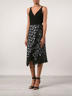 Maiyet Embroidered Cross Over Skirt - Forty Five Ten - Farfetch.com