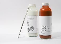 New Leaf Packaging/Branding by Joy Allen, via Behance