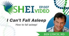 """Do you find yourself saying, """"I Can't Fall Asleep"""" night after hopeless night? There is a solution and it just may be found in your diet...http://seekinghealth.org/resource/i-cant-fall-asleep/?utm_content=buffer79fec&utm_medium=social&utm_source=pinterest.com&utm_campaign=buffer"""