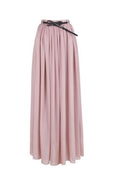 Elegant  Chiffon Long Skirt    Multi Color