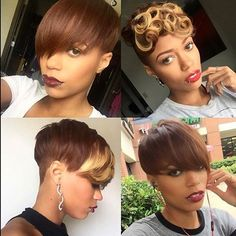 "STYLIST FEATURE| Love this #haircut ✂️done by #atlstylist @hairbychantellen❤️ Be sure to check out our article on ""5 Ways to Rock an Undercut"" to see this style and other dope cuts at VoiceOfHair.com #voiceofhair ========================= Go to VoiceOfHair.com ========================= Find hairstyles and hair tips! ========================="