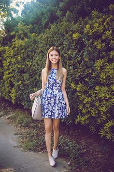 Get this look: http://lb.nu/look/7397666  More looks by Tricia Gosingtian: http://lb.nu/tgosingtian  Items in this look:  Just G Dress, Kate Spade Bag, Le Bunny Bleu Oxfords   #casual #chic #romantic