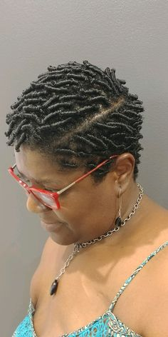 Latest Braided Hairstyles, Short Locs Hairstyles, Flat Twist Hairstyles, Finger Coils Natural Hair, Coiling Natural Hair, Natural Hair Twists, Short Hair Twist Styles, Curly Hair Styles, Natural Hair Styles
