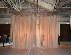 """ARCHITECTURE AS ART"" PIRELLI HANGARBICOCCA, MILAN Exhibition set-up by Tosetto"