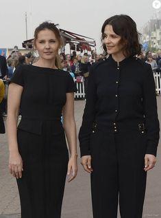 Virginie Ledoyen et Juliette Binoche - Ouverture du 30e Festival du Film de Cabourg en France le 8 juin 2016.