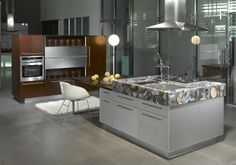 Caesarstone Concetto #8311 Gray Agate is a masterpiece that gives an added value to your kitchen. www.caesarstone.sg