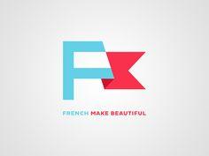 Dribbble - French Make Beautiful - Branding by Christophe Bouche #logo #design #branding #identity #inspiration #brand #idea #modern #creative #simple #flat