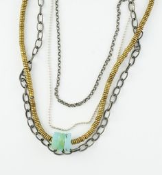 Ancient Roots Peruvian Opal necklace  http://www.etsy.com/listing/35684945/ancient-roots-peruvian-opal-necklace
