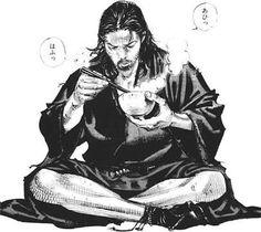 """as-warm-as-choco: """"transparentShinmen Takezo & Miyamoto Musashi """" Manga Art, Manga Anime, Anime Art, Vagabond Manga, Inoue Takehiko, Cooler Stil, Character Art, Character Design, Samurai Artwork"""