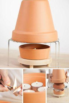 ahorra dinero con esta estufa hecha en casa y calienta de una manera sencilla una habitacin