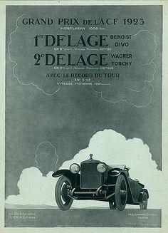 Delage (Cars) 1925