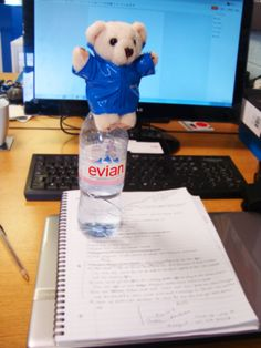 Morclean Bear, the Morclean Mascot, is getting on top of his jobs ready for Interclean 2014 in 7 weeks time! http://morclean.blogspot.co.uk/2014/03/7-weeks-to-go-and-feeling-on-top.html #interclean #cleaning #binwash #inspiration #marketing