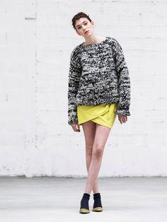 Comment porter la jupe asymétrique : Version casual