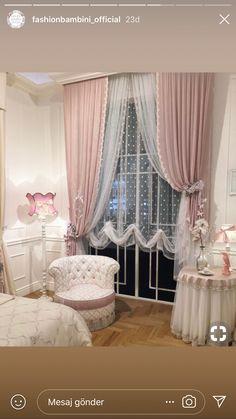 New Bedroom Design Chic Cozy Decor Ideas Elegant Curtains, Shabby Chic Curtains, Home Curtains, Shabby Chic Bedrooms, Modern Curtains, Trendy Bedroom, Shabby Chic Homes, Shabby Chic Decor, Girls Bedroom