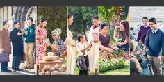 Testemunhas de Jeová em vários países pregando as boas novas