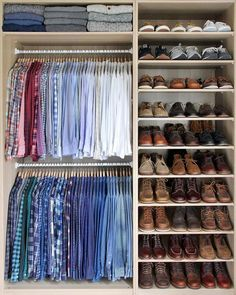 Mens Closet Organization Diy Walk In 46 New Ideas Walk In Closet Design, Bedroom Closet Design, Master Bedroom Closet, Closet Designs, Bedroom Closets, Bedroom Wardrobe, Wardrobe Design, Bedroom Loft, Diy Bedroom