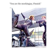 THIS MAY BE THE BEST THING I HAVE SEEN ALL DAY!!!!I always knew Finnick was the mockingjay