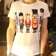 2013 Mens Fashion Creative Personalized Print Funny 3D T shirt - FixShippingFee- - TopBuy.com.au