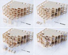penda to Build Modular, Customizable Housing Tower in India,© penda