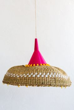 Diy basket becomes pendant light shade jamie pinterest design afrika pendant light shade greentooth Choice Image