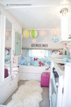 one day, i'd like a camper for myself/office. so sweet!