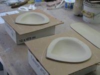 Drop molds: What a great idea! www.porcelainbyAntoinette.com