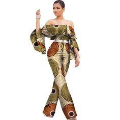 Africa Cotton Wax Print Romper Elegant Jumpsuit Africa Cotton Wax Print Romper Elegant Jumpsuit - Jumpsuits and Romper African Print Fashion, Africa Fashion, African Fashion Dresses, African Outfits, African Attire, African Wear, African Dress, African Style, Fashion Kids