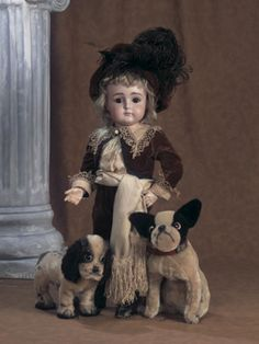 Best In Show: 1 German Bisque Closed Mouth Doll by Kestner