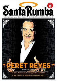 Peret Reyes, a la portada del Santa Rumba 8 #RumbaCatalana #SantaRumba