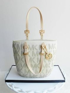Michael Kors purse cake
