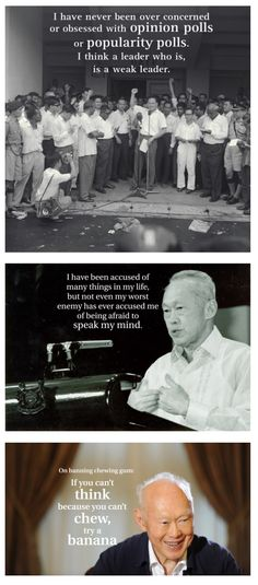 Remembering Lee Kuan Yew Lee Kuan Yew Quotes, Straits Settlements, First Prime Minister, Opinion Poll, Singapore Photos, Great Leaders, World Leaders, Founding Fathers, Proverbs