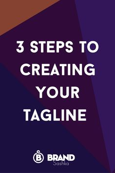 Wondering whether you need a tagline for your business? Your Tagline makes a BOLD statement. And this is applicable to BOTH Product or Service-based businesses. ESPECIALLY when you're creating IMAGE campaigns. Click through to read how to create a tagline that helps you stand out from the crowd as an entrepreneur and in online business.