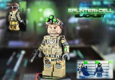 Splinter Cell Blacklist Sam Fisher Custom Minifigure