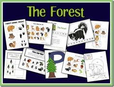 The Forest Preschool Printable Pack