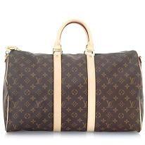Louis Vuitton Monogram Canvas Keepall 45 Luggage