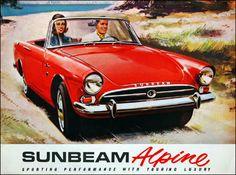 Sunbeam Alpine - Dr No Bond car