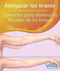 Los mejores ejercicios para vencer la flacidez debajo de los brazos. #adelgazarbrazos