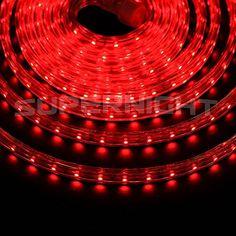 DUMVOINTM 5m  164Ft SMD 3528 300 LEDs Strip Lights Flexible Light Strip AC 110V High Voltage KitsWaterproof Tube Indoor decoration Light Rope60 LEDsM wedding Christmas Lighting DIY Light Set With Power CordColorRed ** Click image to review more details.