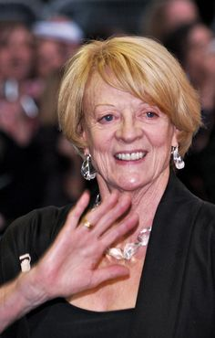 Maggie Smith Stars in 'Downton Abbey
