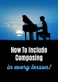 Wondering how to even begin with composing? How to fit it in? What to do? Here's your answer...