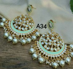 Jewelry For Sale Online Indian Jewelry Earrings, Indian Jewelry Sets, Jewelry Design Earrings, Indian Wedding Jewelry, Bridal Jewelry, Jewelery, Silver Jewelry, Indian Accessories, Hand Jewelry