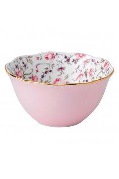 Royal Albert Rose Confetti Vintage Bowl