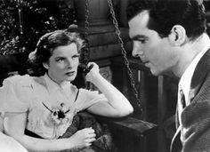 Katharine Hepburn in Alice Adams (1935) | dress is Hollywood 1020 pattern