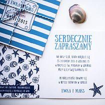 Morskie zaproszenia ślubne, filtr