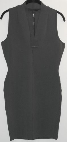 Alexander Wang Bodycon Dress. Free shipping and guaranteed authenticity on Alexander Wang Bodycon Dress at Tradesy. Fitted sleeveless dress from Alexander Wang in dar...