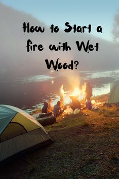 In this article, we're going to tell you how to start a fire with wet wood. This will surely make you better equipped to go out camping next time. Water Survival, Outdoor Survival, Survival Prepping, Survival Skills, Survival Gear, Survival Videos, Water Games For Kids, Indoor Activities For Kids, Family Activities