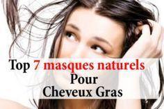 7 masques naturels pour cheveux gras