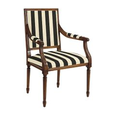 Louis XVI Square Back Armchair